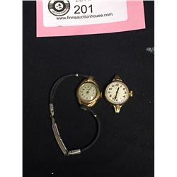 2 Vintage Ladies Watches