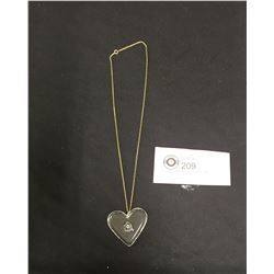 RCAF Sweetheart Pendant on Chain