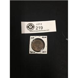 Very Nice 1917 Canadian Large Penny with lots of Detail!
