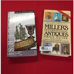 2 Miller's International Antiques Price Guides. Hard Cover