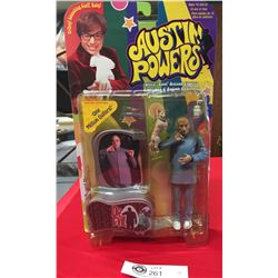 """1999 Austin Powers """" Dr. Evil""""Ultra Cool Action Figure New in Package"""