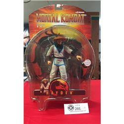 """2000 Series One Hard to Find """"Rayden"""" Mortal Combat Collectible Figurine. New In Box"""