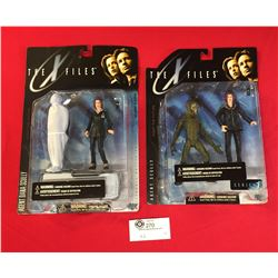 """2 New in Package  X Files """"Agent Scully"""" Fight for the Future 1998 Series 1"""