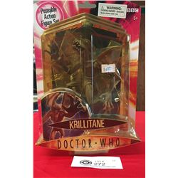2004 Doctor Who Action Figure New in Package. Krilltane. Harder to Find