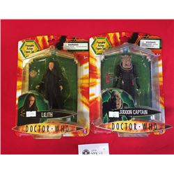 2 Doctor Who Action Figures New In Package.Lilith and Judoon Captain