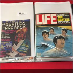 Big Black Book of Beatles Memorabillia. Newspaper Clippings and Magazines
