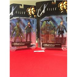 2 X Files Series 1 Action Figures Agent Mulder