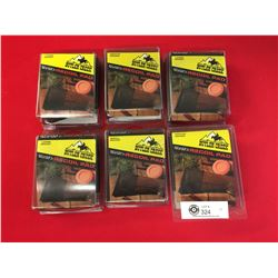 "6 Recoil 3.5"" w New in Package. Fits most Rifles and Shotguns. 1 small, 2 medium and 3 Large"