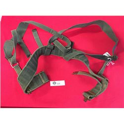 WWII Canadian  Webbing. Belt,Shoulder Straps Set Up Dated 1941