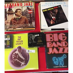 18 Vinyl Jazz Records Plus 2 Jazz Boxed CD Collection Plus Book. Big Band Jazz