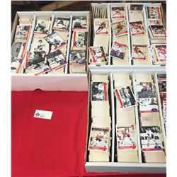 3 Boxes of Hockey Cards. Mostly 1992 Cards of the 76 Canada Cup. Lots of doubles etc + 1 Row of 1990