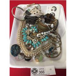 Tray of Costume Jewelry