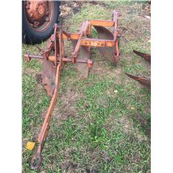 Allis Chalmers 3 Furrow Plow, With Allis Chalmers 3 Pt