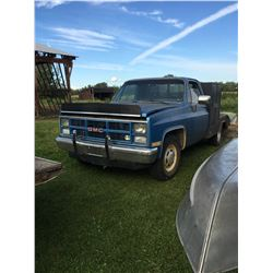 1985 GMC Welding, Deck Truck