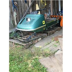 John Deere 300 Snowmobile - For Parts
