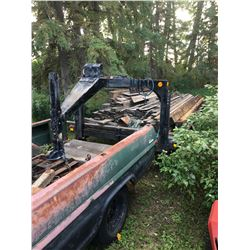 Home built goose neck trailer, 24 foot, includes 3 foot beaver tails,