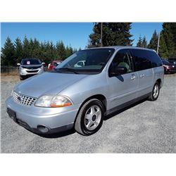 M1 --  2003 FORD WINDSTAR , Grey , 301178  KM's