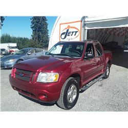 F3 --  2004 FORD EXPLORER SPORT TRAC , Red , 197228  KM's