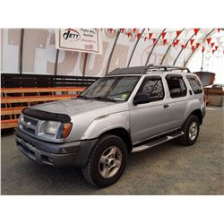M4 --  2001 NISSAN XTERRA XE  , Grey , 319396  KM's