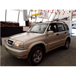 N3 --  1999 SUZUKI GRAND VITARA JX , Green , 243226  KM's