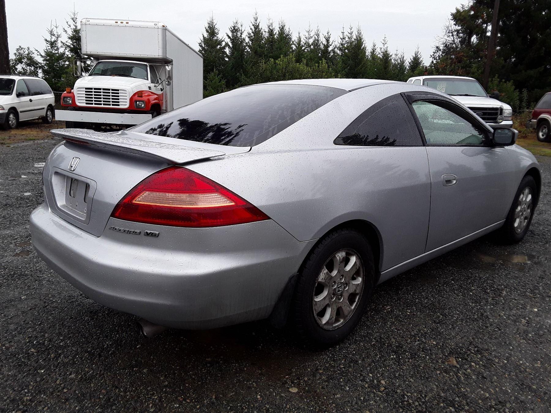 L3 2003 Honda Accord Ex Silver Unknown Km S