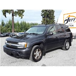 L2 --  2007 CHEVROLET TRAILBLAZER LS , Grey , 275097  KM's