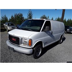 H5 --  2000 GMC SAVANA G2500  , White , 374771  KM's