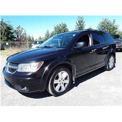 J2 --  2010 DODGE JOURNEY R/T , Black , 200119  KM's