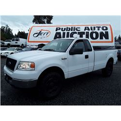 K6 --  2005 FORD F150 , White , UNKNOWN  KM's