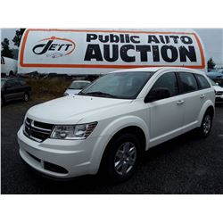M4 --  2012 DODGE JOURNEY SE , White , 171908  KM's