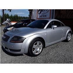 H3 --  2002 AUDI TT QUATTRO , Silver , 138551  KM's