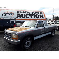 "A2 --  1993 DODGE DAKOTA , White , 174866  KM's ""NO RESERVE"""