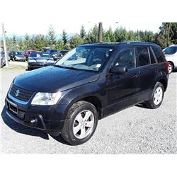 K1 --  2009 SUZUKI GRAND VITARA XSPORT , Black , 169137  KM's