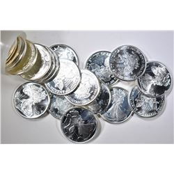 50 1/10 OZ BU LIBERTY SILVER COINS