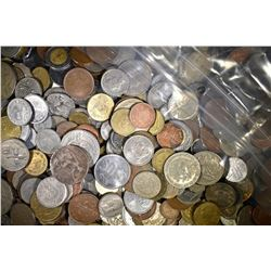 20 LBS FOREIGN COINS