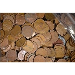 908 MIXED DATE WHEAT CENTS