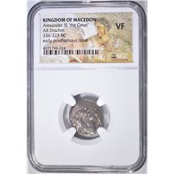 336-323 BC DRACHM  KINGDOM OF MACEDON