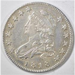 1818 BUST QUARTER  AU