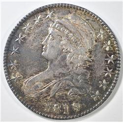 1819 BUST HALF DOLLAR   AU