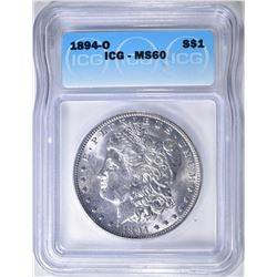 1894-O MORGAN DOLLAR  ICG MS-60