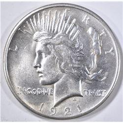 1921 PEACE DOLLAR  CH/GEM BU