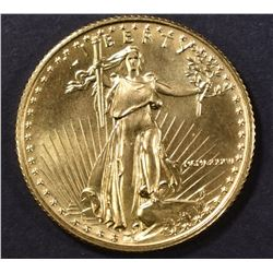 1986 1/4th OUNCE FINE GOLD AMERICAN EAGLE