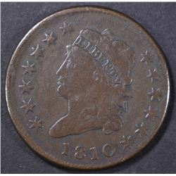 1810 LARGE CENT  F-VF