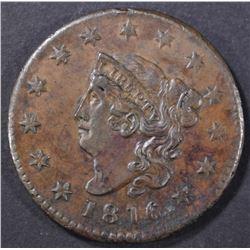 1816 LARGE CENT  CH AU