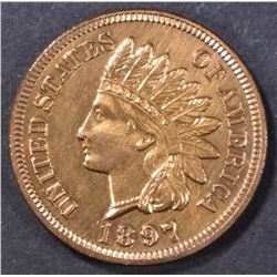 1897 INDIAN HEAD CENT  CH PROOF