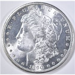 1890-S MORGAN DOLLAR  GEM BU