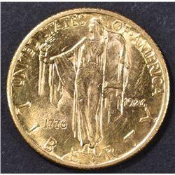 1926  $2.5 GOLD SESQUI  CH BU