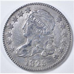 1825 BUST DIME   XF/AU