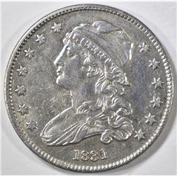 1831 BUST QUARTER  AU/BU