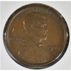 1909-S LINCOLN CENT AU